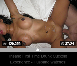 Insane First Time Cuckold Experience - Husband Watches