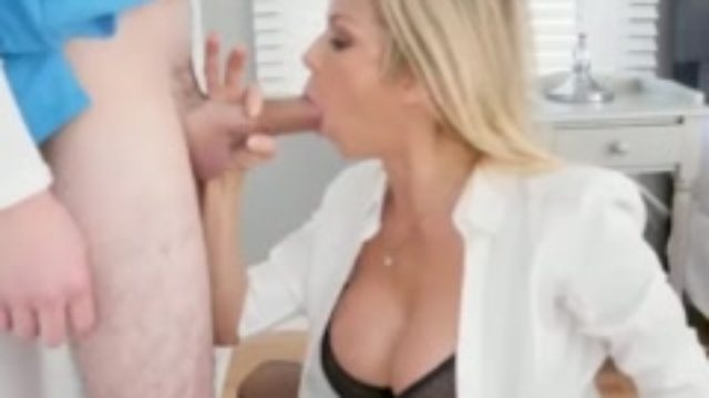 Step mom made me do it xxx My Peeping boss's step son
