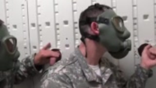Gay military dirty socks first time Glory Hole Day of Reckoning