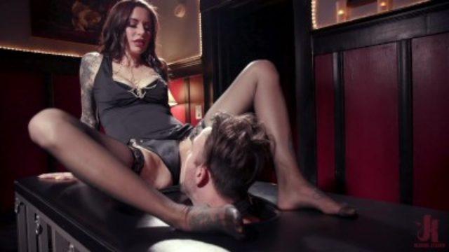 Caged Slave Must Serve Mistress Gia DiMarco